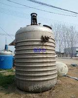 低价出售5吨不锈钢反应釜