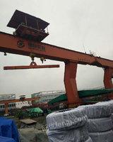 出售二手双粱行车20/5吨,跨度22米