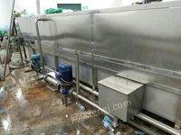 出售连续喷淋式杀菌冷却机
