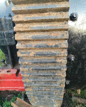 2.1*6.2米轴承球磨机处理