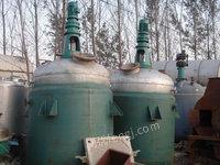 低价出售2000升不锈钢反应釜