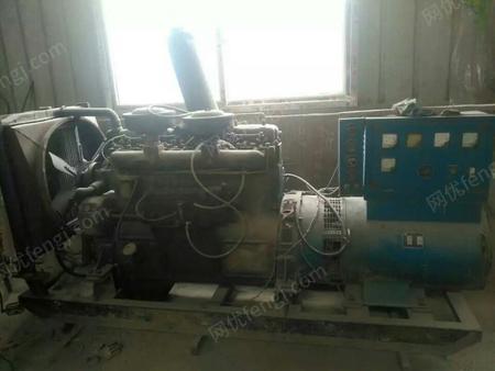 水泥瓦厂出售100KW/250KW柴油发电机各1台