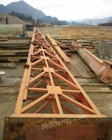 出售二手花架龙门吊10吨跨度20米