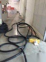 处置铝芯电缆3x300十2x150共计120米