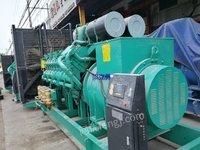 出售重庆科克2000千瓦发电机