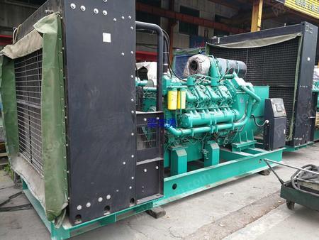转让重庆科克880千瓦发电机