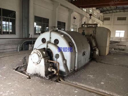 现有一套35吨循环流化床锅炉配套一台C6-35/5汽轮发电机组出售