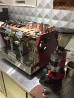 便宜转让意大利双头全自动咖啡机