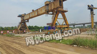 Sell second-hand bridge machine,second-hand girder machine,second-hand beam truck,second-hand carry line
