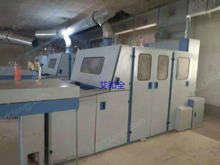 出售青岛亿祥231A梳棉机带原厂自调匀整大棉箱3台
