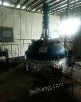 出售二手淄博太极2吨搪瓷反应釜二手化工设备
