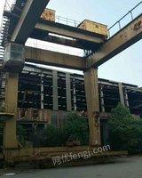 低价处理32吨跨度20米集装箱门吊