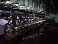 处置积压新型纤维制造有限公司氨纶生产线设备整套