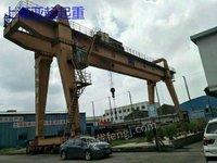 上海亚起起重低价出售4台龙门吊,跨度30米,货在上海宝山,在位,手续齐全。