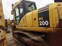 小松pc220-7挖掘机(转让小松200)
