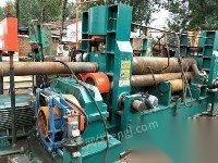 转卖二手卷板机30*2500液压万能各种型号焊接滚轮架