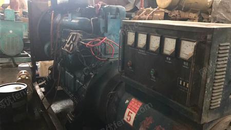 出售二手120kw上柴发电机组