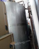 出售售4吨上海产全不锈钢全封老化缸6台