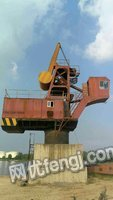 Sale of used wharf crane.