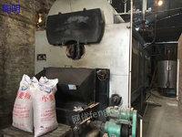 出售2016年四通两吨卧式蒸汽锅炉