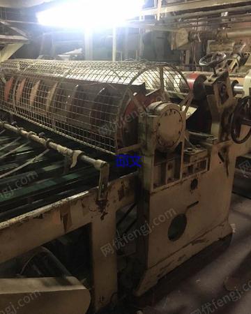 出售B瓦1.6米富利12N单面生产线