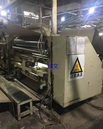 出售E瓦1.6米富利12N单面生产线