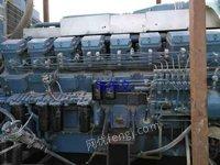 出售原装进口三菱动力二手发电机组MGS,s16R,1600千W,无动过螺丝,动力扛扛,有需求者请速来电