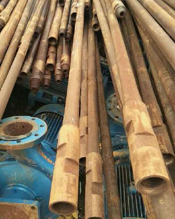 新疆回收钢材钢管架管油管,钢板,角钢等