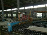 处理旧2013年H型钢生产线