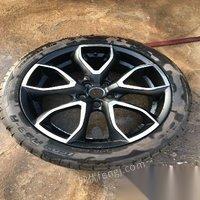 整套固铂轮毂轮胎出售