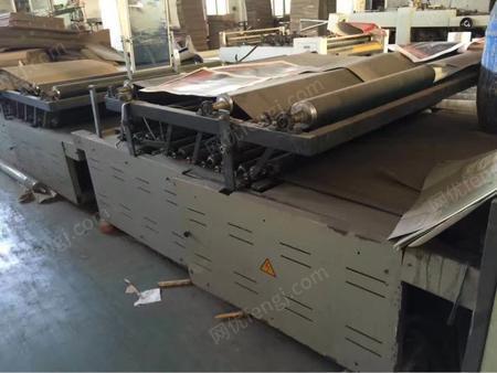 2012年11月温州耐特1600半自动裱纸机出售