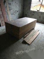 转让旧木工板建筑模板50块左右