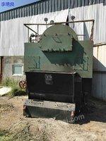 出售2012年,4吨青岛胜利燃煤蒸汽锅炉低价出售