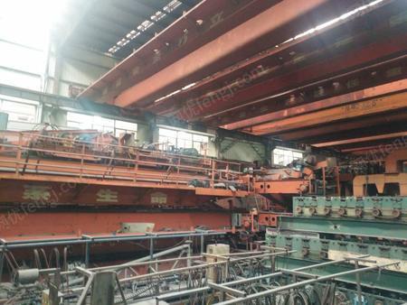 低价出售 精品桥式双梁行车 天车 20吨 跨度28.5米