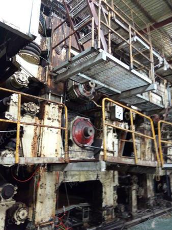 河南出售2011年3800/300高瓦长网机一套