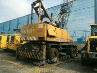急售25吨加藤哈工吊,轮胎吊,海港吊,整车原版,手续齐全,港务车