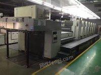 急售罗兰6+1+UV高配印刷机