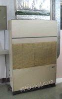 天津工厂转让空调机-日本水冷中央柜式空调机-空压机空气压缩机