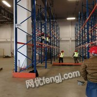 一批高度7米4,宽度2米3的重型货架出售