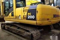 转卖2015年小松200-8MO挖掘机