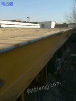 出售大型板车,长19米,宽3.5米,载重200吨,双排轮胎,72个轱辘