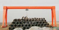 处理库存32吨葫芦双主梁龙门吊,跨度26米,外悬5+5米