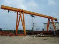 出售20吨QD双梁 25吨偏挂龙门吊 32吨室外双主梁 50吨冶金吊