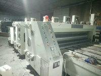 出售上海奔欣三色印刷开槽机
