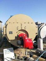 出售精品三吨燃气蒸汽锅炉2015年生产