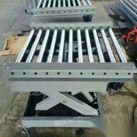 处理库存二手滨州登车桥固定式剪叉式升降机固定式货梯剪叉式升降机