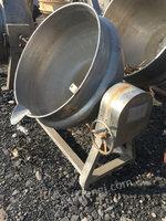 出售二手全自动行星炒锅自动搅拌自动倒料夹层锅各种规格不锈钢夹层锅