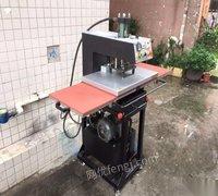 低价甩卖二手40*60液压双工位烫画机烫钻机衣服印花机压烫机