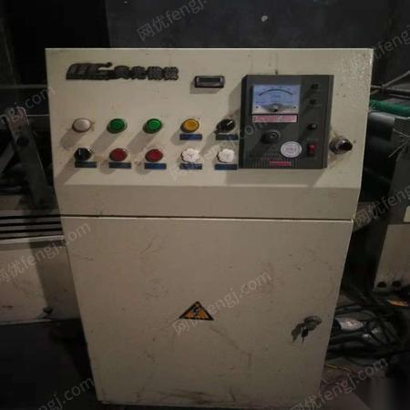 因转行.95成新美光机械 fmb-1300a半自动覆面机 绞纸机 45000元出售