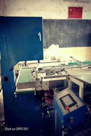 低价转让14年八成新生产卷纸生活用纸机械一套.含2米复卷机,自动包装机,自动切纸机.等整套